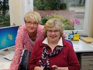 Frau Tardel (mit Frau Brodersen)